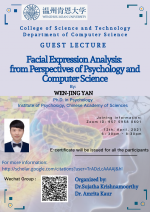 Facial Expression Analysis: from perspectives of Pyschology and Computer Science